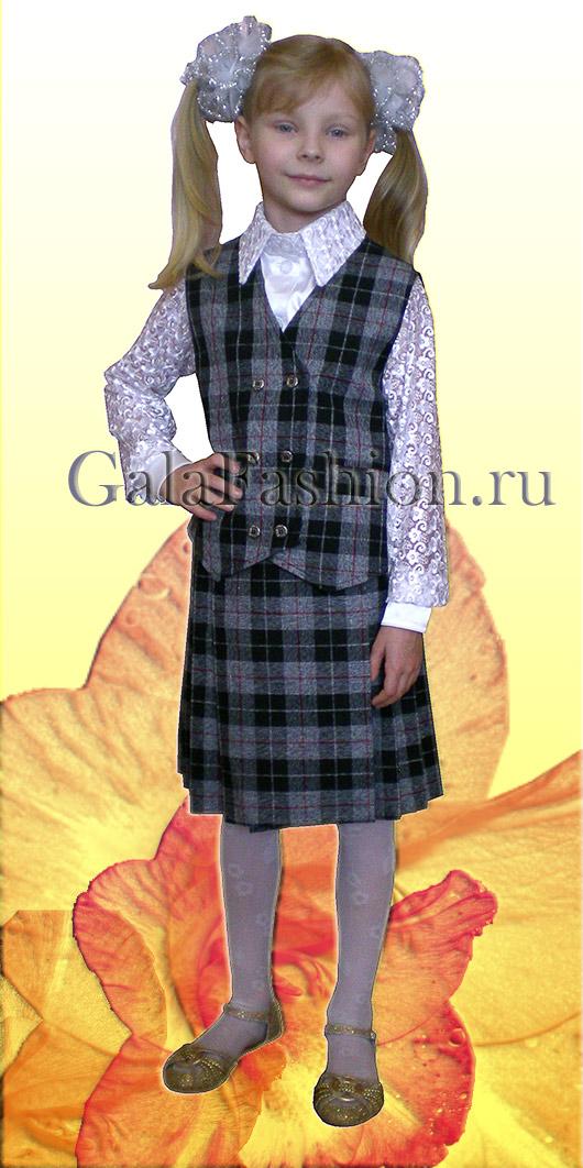 sezonmoda.ru - Белая блуза для школьницы