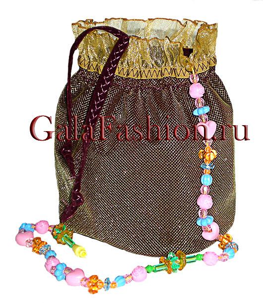Детская декоративная сумочка, пошив детских сумочек.