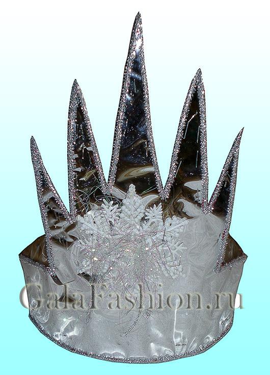 Как сделать корону своими руками снежной королевы
