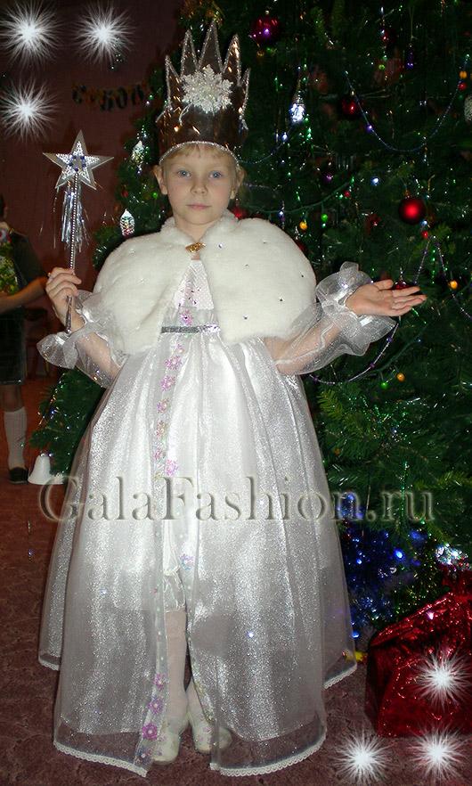 Детский карнавальный костюм Снежная Королева 9ff7d35e05a26