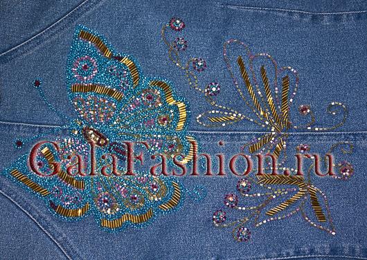 Как украсить джинсовую куртку 10